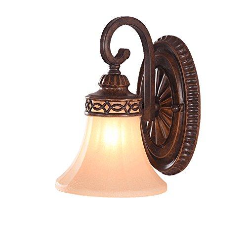 LLYU American Retro lámpara de Pared salón Dormitorio Espejo lámpara TV Fondo Pared Pasillo Entrada lámpara de Pared