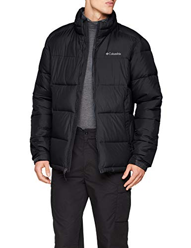Columbia Pike Lake, Veste Homme, Noir (Black), XL