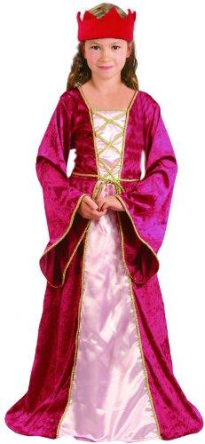 Déguisement reine médiévale fille - 10 - 12 ans (L)