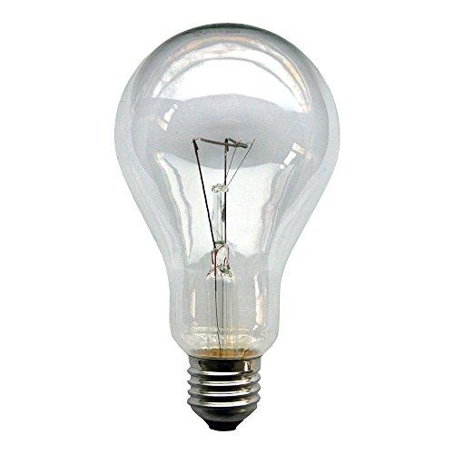 1 x Glühbirne 300W E27 klar Glühlampe 300 Watt Glühbirnen Glühlampen