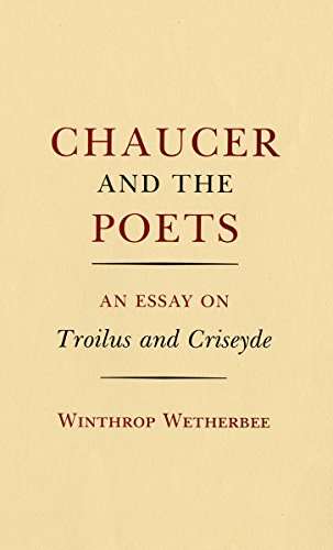 Couverture du livre Chaucer and the Poets: An Essay on Troilus and Criseyde (English Edition)