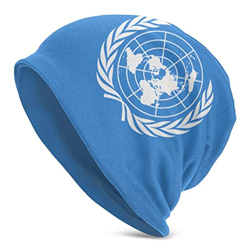 NA Flag of The United Nations Adult Winter Running Beanie Hat Knit Hat for Hiking Cycling Walking for Men and Women