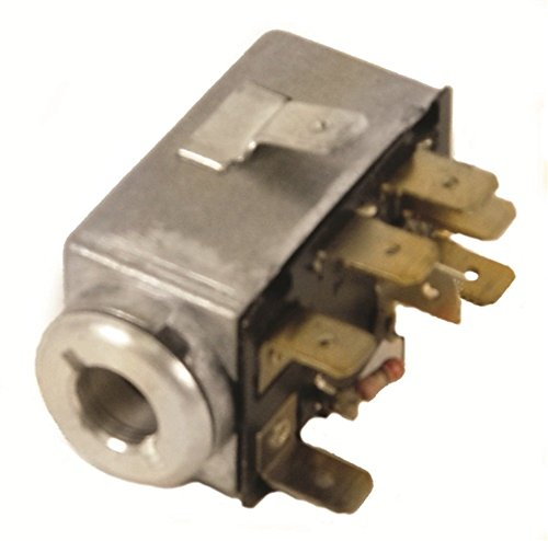 Emergency Flasher Switch, 7 Prong, Type 1 Bug & GHIA 68-73, Type 2-3 68-72