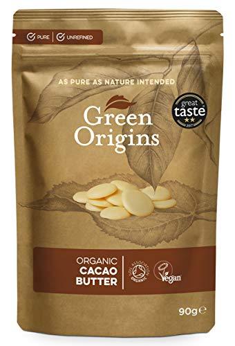 Green Origins Bio Kakaobutter, 90 g