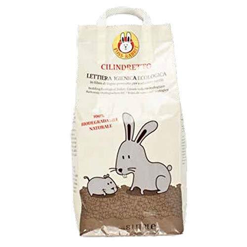 Ferribiella Cilindretto Lettiera per Conigli e Roditori 5 kg