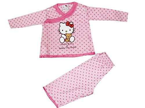 Desconocido Pijama Bebe Hello Kitty - 3Meses