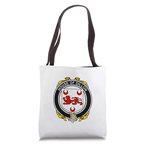 Dillon Coat of Arms - Family Crest Tote Bag