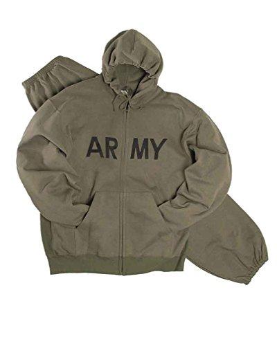 Mil-Tec US Jogging-Anzug Army Oliv Gr.3XL