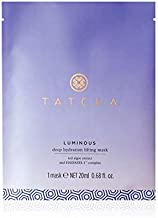 Tatcha Luminous Deep Hydration Lifting Mask: Anti-Aging Single Use Mask for Luminous Skin (20 ml   0.68 oz)