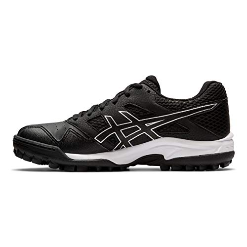 ASICS Women's Gel-Lethal MP 7 Turf Shoes, Black/Silver, 7.5 M US