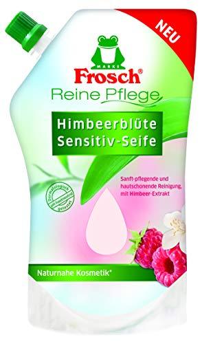 Frosch Reine Pflege Frosch Sensitiv Seife Himbeerblüte Nachfüllbeutel, 1er Pack(1 x 500 milliliters)