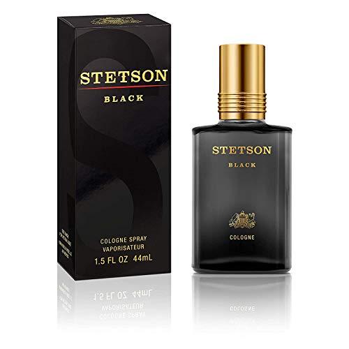 Stetson Black Cologne Spray for Men, 1.5 Fl Oz