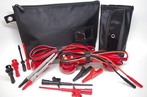 Loop Check Phone Set Electrician Continuity Tracer Tester Electrical ME003 (Dark Red or Black color choice)