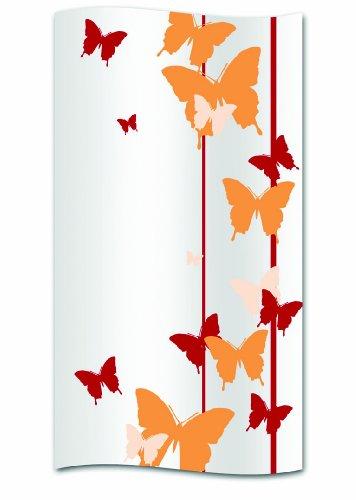 kela Duschvorhang Butterfly Polyester 180 x 200 cm