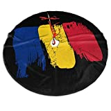 Romanian Flag Dew Christmas Tr...