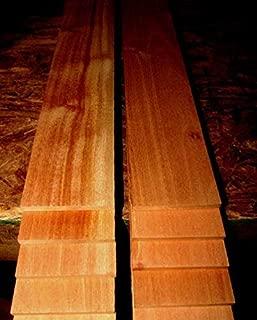 1 Packet of Thin Premium KILN Dried, Sanded Exotic Spanish Cedar Lumber Wood Size : Ten 24