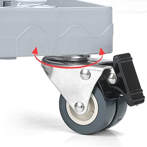 CHGDFQ Carro base multifuncional con ruedas de goma para secar en lavadora y secadora