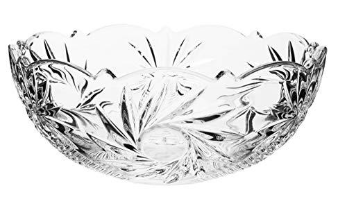 Centro de Mesa Bohemia Transparente Cristal Ecológico