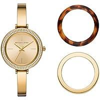 Michael Kors Women's Gold-Tone Stainless Steel Bracelet Watch