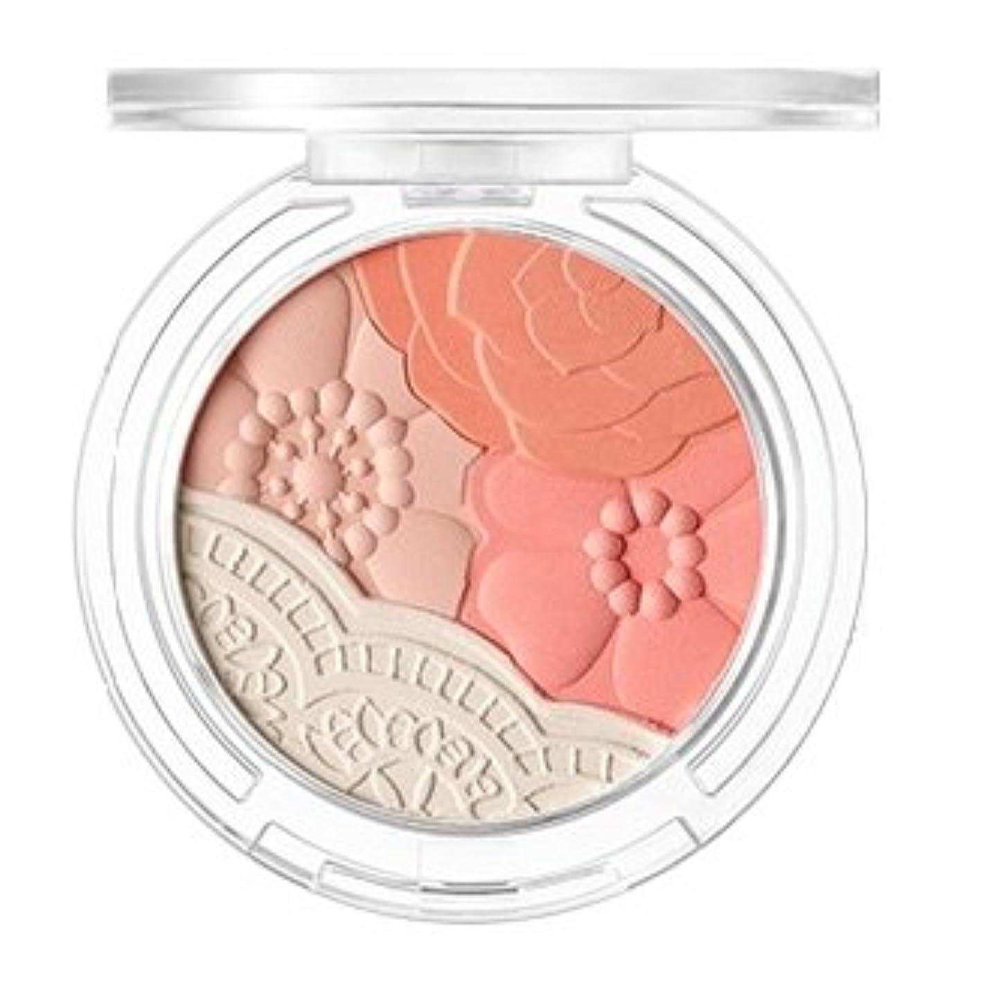 燃やす真向こうレオナルドダTONYMOLY Crystal Lace Blusher S/S (02 Daisy Coral) / トニーモリー クリスタルレースブラッシャー [並行輸入品]