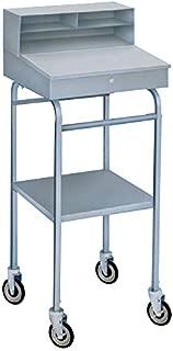 steel receiving desk
