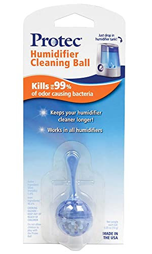 Protec Humidifier Cleaning Ball (PC-1) – Fight Humidifier Mold and Bacteria with Protec Humidifier Cleaning Ball