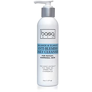 Basq Skin Care Anti-blemish daily Cleanser, 6 Oz