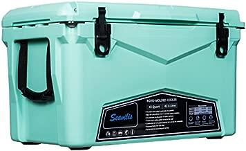 Seavilis Heavy Duty roto Molded ice Chest Cooler 45qt (Seafoam Green)