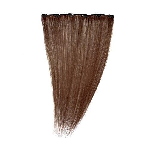 Love Hair Extensions - LHE/A1/QFC12/35G/18/33 - 100 % Cheveux Naturels - Maximum Volume - Barrette Unique Extensions à Clipper - Couleur 33 - Cuivre Riche - 46 cm