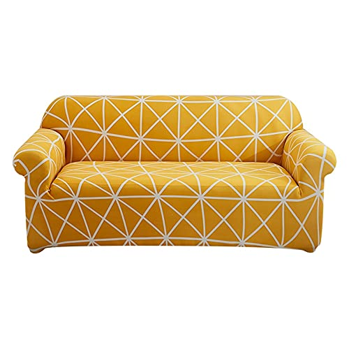 WXQY Funda de sofá elástica geométrica para Sala de Estar