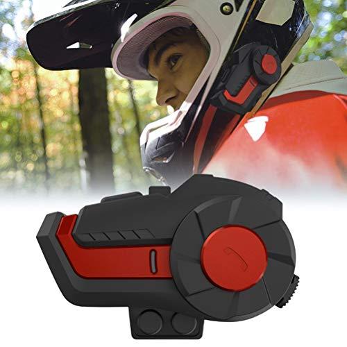Auriculares Bluetooth, Auriculares de Audio inalámbricos con intercomunicador de Motocicleta con micrófono con cancelación de Ruido para Universal