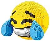 Skajowid Building Blocks Emoticon con Etiquetas de LANCY / FABRICACIÓN Figura para Montaje con NANOBLOCKS Adecuado para niños Regalos de cumpleaños para niños (985 PCS)