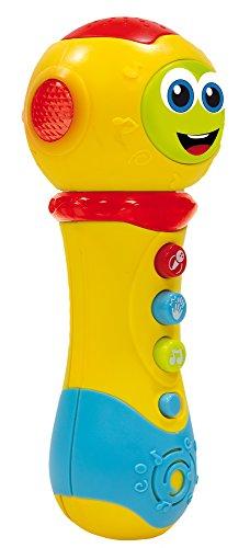 Liscianigiochi- Carotina Baby Giocattolo Microfono Valentino Canterino 3 in 1, 65493.0