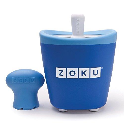 Zoku ZK110-BL Pop Maker Sorbetière Instantanée Bleu