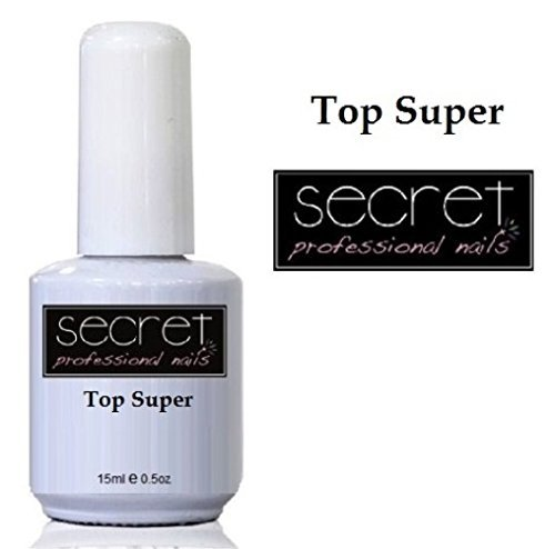 Secret Professional Nails UV-/LED-Nagellack farbig Gel-Shellac-Lack - Top Coat Super No Wipe