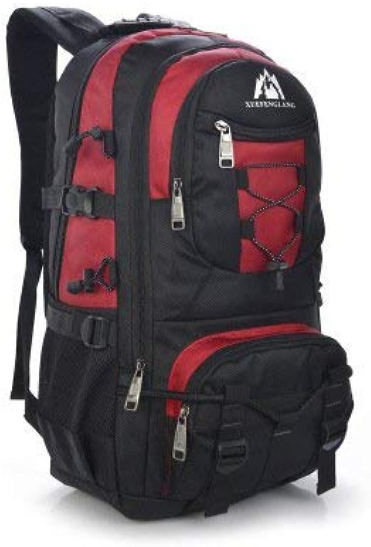 Lounayy Lounayy Lounayy Rucksack Travel Trekking Multifunktions Backpack Outdoor Wandern Mode Stylisch Rucksack Bergsteigen Rucksack Trekking Rucksack (Farbe   Gules, Größe   One Größe) B07PGDQ3RR  Stimmt 771e82
