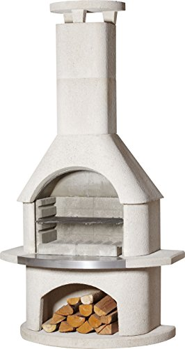 54cm Elba Masonry Charcoal Barbecue