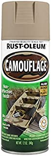 Rust-Oleum 1917-830 1917830 Camouflage Spray, Khaki, 12-Ounce