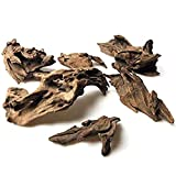 Heritan Grandes ramas naturales de madera deriva reptiles acuario acuario acuario acuario acuario pecera cueva escondite madera decoración