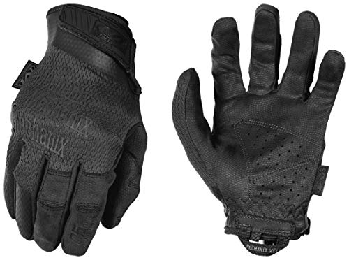 Mechanix Specialty 0.5 mm Covert Black Gloves, Small