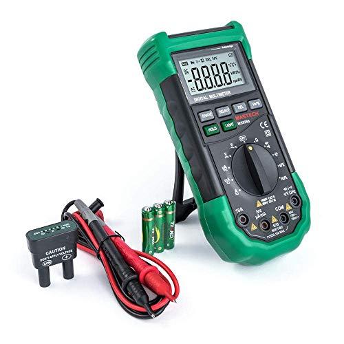 MS8268 MASTECH Advanced Digital Multimeter Auto Range 4000 Counts DCV/ACV/DCC/ACC/Ohm/Cap/Freq/%