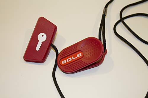 Lew All Fitness Solutions Replacement Red Safety Key for Treadmill - Sole Fitness Treadmill Safety Key for 2013-2016 Models, Check Description for Model Numbers