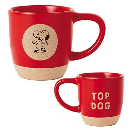 Hallmark Peanuts Snoopy Top Dog Mug
