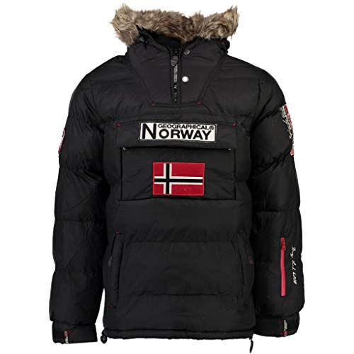Geographical Norway Chaqueta Hombre BOKER Negro S