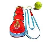 Tennis Sèche- Ball - 4-en- 1 Accessoire Tennis - Voté «Meilleur Tennis Gadget » - Comprend Quatre Grands fonctionnalités de 1. Le Cadeau Parfait pour Tennis ne Importe Quel Joueur