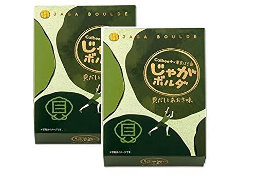 セット商品 Calbee+ × 東京ばな奈 じゃがボルダ (貝だしとあおさ味2個+国産もち米あられ1個セット)