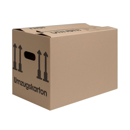 as-Kartons Verhuisdozen, STUKTALE SELECTABLE (Profi) stabiel + 2-WELLIG - Verhuisdoos dozen Verpakking Boeken Box