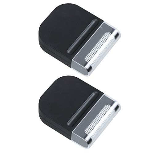 Homyl 2x Mini Removedor De Fiapos Manual Cabelo Fluff Fuzz Shaver Lavadora De Roupas Epilator