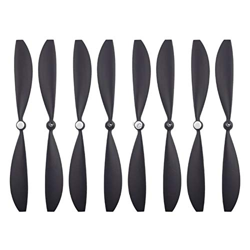 SDFIOSDOI Hélices de Drone 4 Pares Black Durable Propellers Blades Wings Fit...