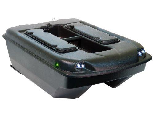 Carp Madness XXL Bausatz Futterboot Schwarz mit Farbecholot Toslon TF500 Bait Boat